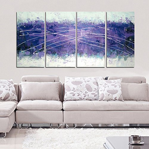 Pretty Purple wall decor - trendy purple wall art