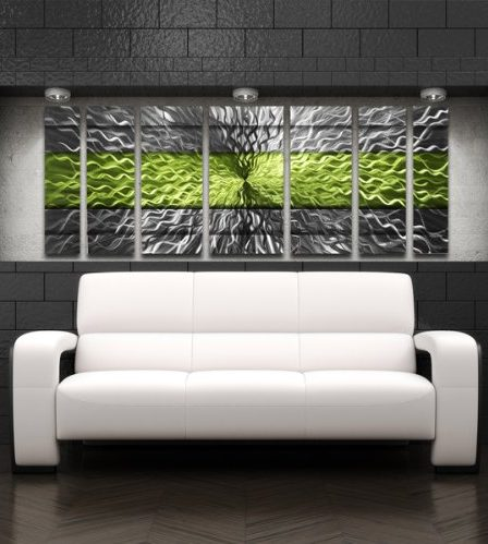 pretty glass wall decor - trendy glass wall art