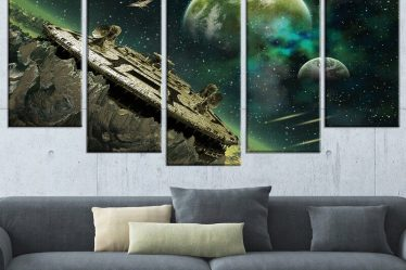Alien Wall Decor
