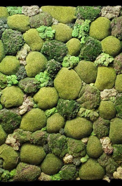 Moss Mound - Green Wall Decor