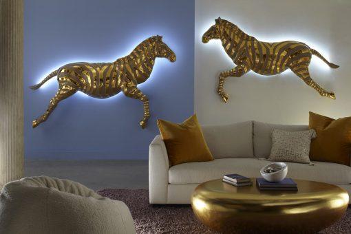 Zebra Illuminated LED Wall Decor - Zebra Wall Art