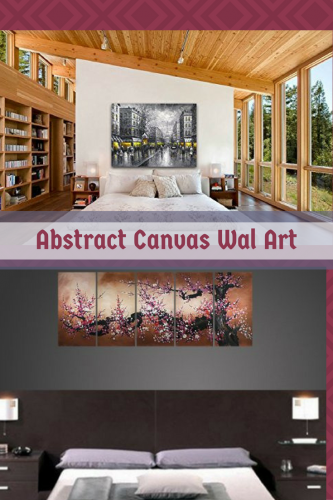 Abstract Canvas Wal Art - canvas wall art home decor