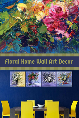 Floral Home Wall Art Decor