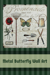 Metal Butterfly Wall Art - Metal Butterfly Home Wall Art Decor