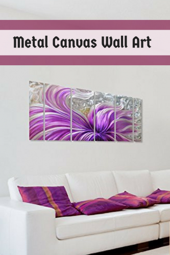 Metal Canvas Wall Art - Metal canvas home wall art decor