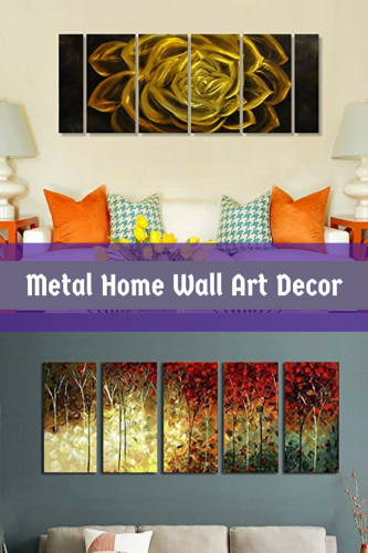 Metal Home Wall Art Decor