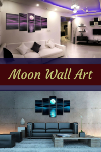 Moon-Wall-Art - moon home wall art decor