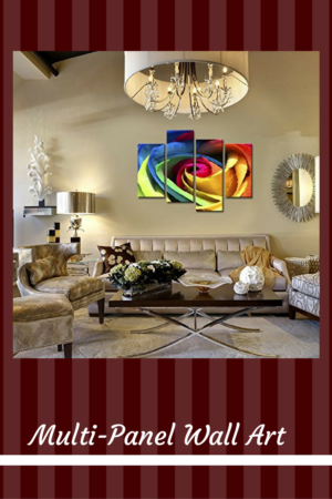 MultiPanel Wall Art - Multi panel home wall art decor