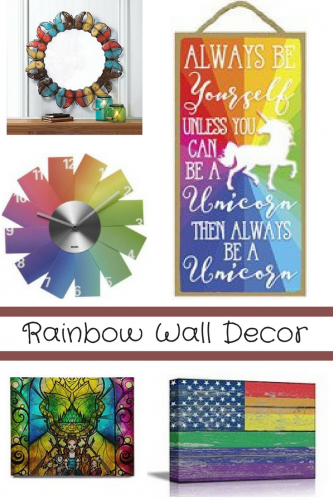Rainbow Wall Decor