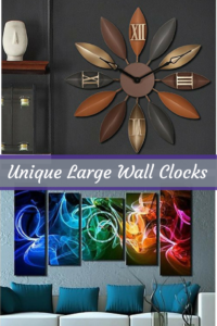 Unique Large Wall Clocks - Unique Home Wall Art Decor
